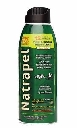 Natrapel 12-Hour Mosquito, Tick and Insect Repellent